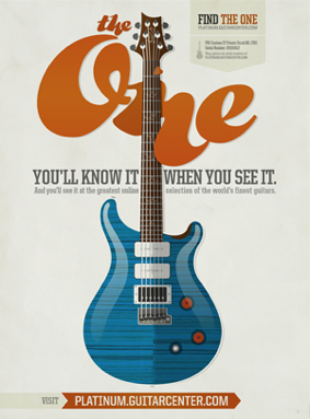 Guitar Center ad