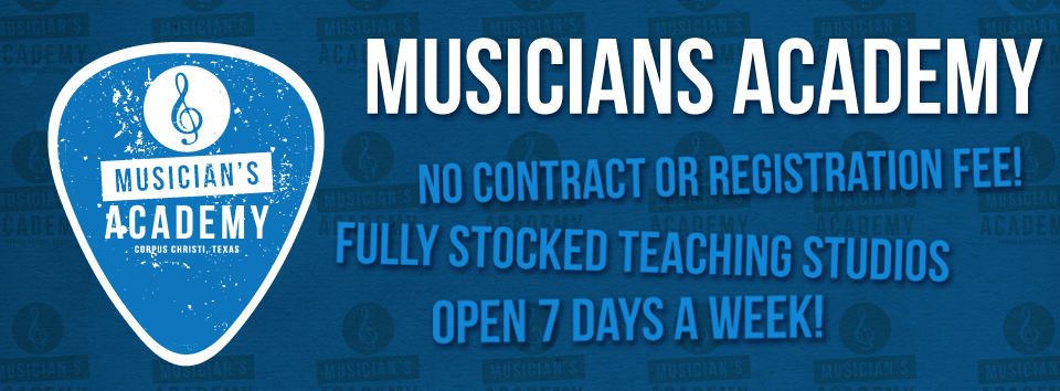 No contracts, no need to bring your own instrument, open 7 days a week.